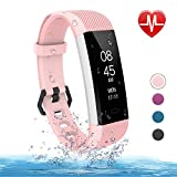 Fitpolo Fitness Tracker HR - Schlanke Smart Watch, wasserdichter Activity Tracker mit...
