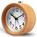 HaloVa Alarm Clock, Creative Fashion Silent Non Ticking Sweep...