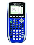 Texas Instruments TI-84 Plus C Silver Edition Graphing Calculator with Color Display (Blue) (Renewed)