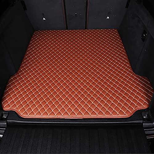 Alfombrilla Cuero para Maletero de Coche para Volvo V40 2013-2019vvv, Accesorios Alfombras Impermeables a Prueba de RasguñOs para El AutomóVil, Cuero Alfombrillas Maletero Protector