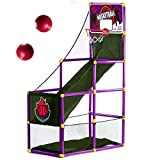 Arcade Purple Basketball Hoop Game by BestKidBall – Basement Toys – Basketball Hoop for Kids – Basketball Game with Hoop Training System – Kids Indoor Sports Toys – Fun and Entertaining
