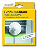 Schellenberg 22720 Sensor Rollodrive Sonnensensor für elektrische Gurtwickler RolloDrive 55, 65, 75 und 105, Kabellänge 0,75 m