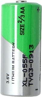 Xeno XL-055F ER14335 2/3AA STD 3.6V Lithium Thionyl Chloride Battery 2-Pack