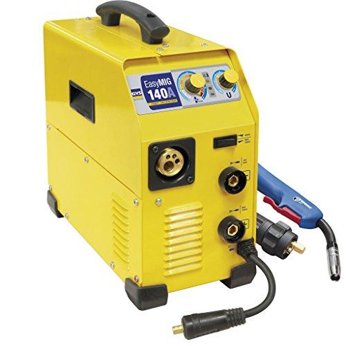GYS 031876 EASYMIG 140-140 A MIG/MAG/MMA Multi Process Inverter Welder, 230 V,...