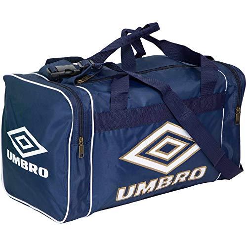 UMBRO Retro Small Holdall Sporttasche Tasche (one Size, Blue/White)