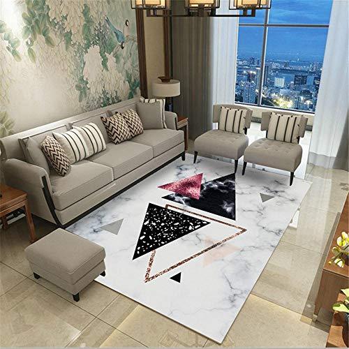 Kunsen Cuadros Salon Modernos Grandes alfombras Salon Modernas Alfombra de salón rectángulo...