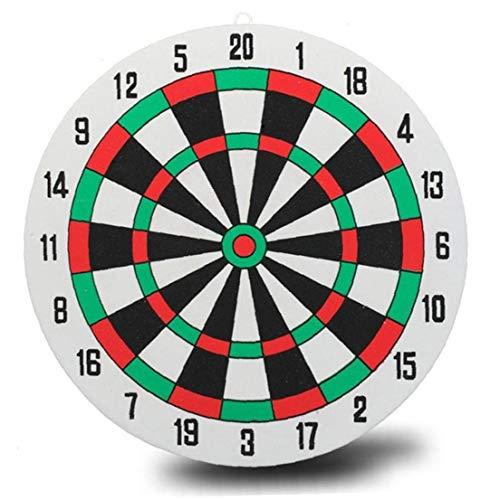 Lankater Darts Ziel 3 Darts Wand Beidseitig Dual-use-dicken Schaumstoff-Spielzeug Dart Board Anzug Board & Darts Spiel Durchmesser 29,5 cm