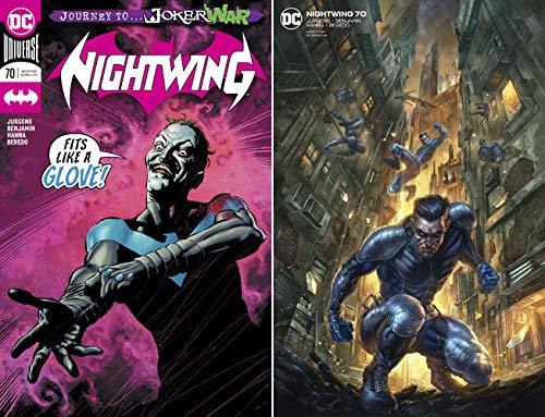NIGHTWING #70 (1st JOKER WAR Covers Combo)