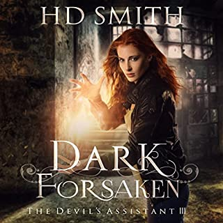 Dark Forsaken     The Devil's Assistant, Book 3              By:                                                                                                                                 H. D. Smith                               Narrated by:                                                                                                                                 Lauren Fortgang                      Length: 9 hrs and 14 mins     10 ratings     Overall 4.4