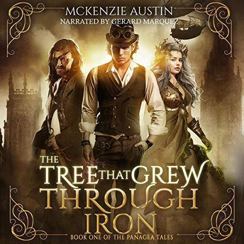 The Tree That Grew Through Iron audiobook cover art