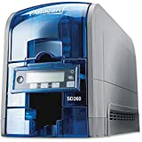 Kartendrucker DataCard SD260, Farbiger Druck 300x 300dpi–Plastikkartendrucker (300x 300DPI, 1D, 2D, 830 Karten/Stunde, 200 Karten/Stunde, 85,6x 53,98mm).
