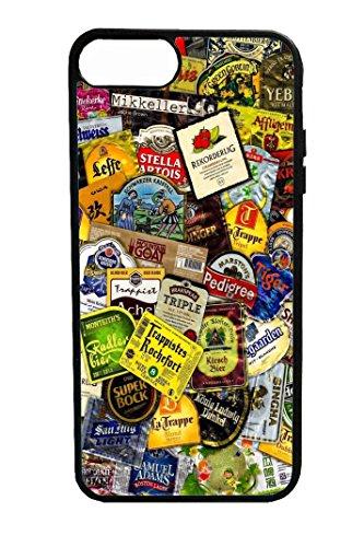 Bkstuff Cover Custodia TPU Birre Etichette STICKERBOMB per Vari Modelli (iPhone 7 8)