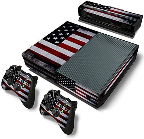 DAPANZ American Flag Vinyl Skin Sticker Decal Cover for Xbox One Console Kinect 2 Controllers product image