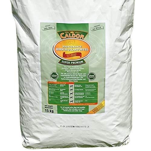 Caldor 15 kg Maintenance Hirsch - Kartoffel | getreidefreies Hunde Trockenfutter | Hundefutter ohne Getreide