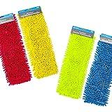 Selldorado® 2X Copertura di Ricambio per mop per Pavimenti - Copertura per mop in Microfibra - mop per Una Pulizia accurata del Vostro Spazio Vitale (2 Pezzi)