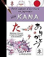 Petit cahier d'écriture - Les KANA