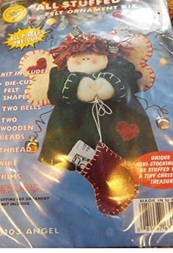 All Stuffed Up Felt Angel Ornament Kit 63103