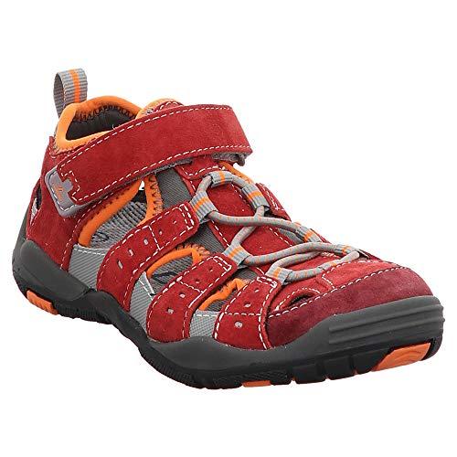Vado | Till | Sandale - rot | dk. red, Farbe:rot, Größe:33
