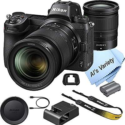 Nikon Z6 FX-Format Mirrorless Camera with 24-70mm Lens from NIkon intl