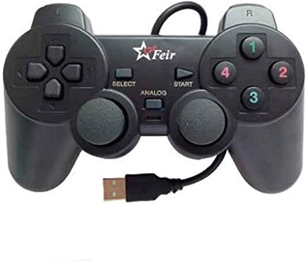 Controle Joystick USB Analógico Dualshock para Pc e Notebook