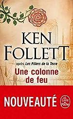 Une colonne de feu de Ken Follett