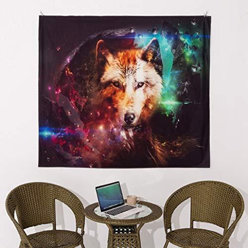 Giftik Tapiz de pared con diseño de animales de fantasía para colgar en la pared del hogar,dormitorio,sala de estar,tela de fondo de Internet, toalla de playa,esterilla de yoga (150x200cm)
