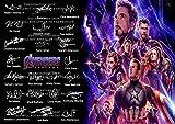 The Signature Shop Avengers End Game Autogrammdruck, PP x