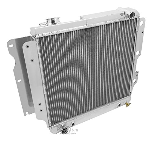 Champion Cooling, 3 Row All Aluminum Radiator for Jeep Wrangler YJ, CC2101