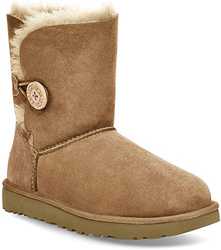 UGG Bailey Button, Stivaletti Donna, Marrone (Chestnut), 37 EU