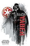 Star Wars Rogue One Darth Vader Grunge Maxi Poster,