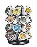 Java Concepts. Steel Carousel Holder Organizer for 24 Keurig K-Cup Pods. Black