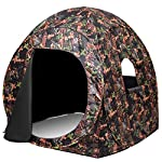 Tangkula Ground Blind, Pop Up Hunting Blind, Suitable for 2-3 People
