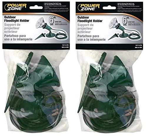 Power Zone Floodlight Kit 6' Green, 2 Pack