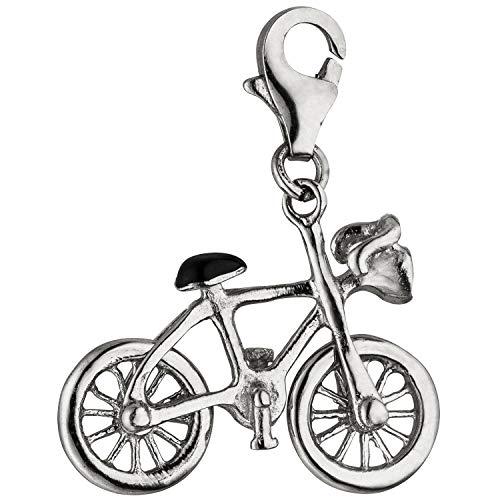 JOBO Damen-Charm Fahrrad aus 925 Silber