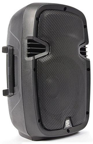 "Skytec SPJ-800A - Bafle autoamplificado (8"", 200 W, ABS, 115 dB)"