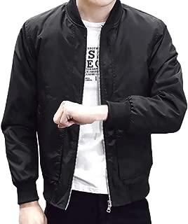 Sunward Coat for Men,Men Winter Warm Jacket Overcoat Outwear Slim Long Sleeve Zipper Tops Blouse