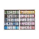 100 rollos de Cinta Washi Vintage, NogaMoga Cinta Adhesiva Decorativa Washi Tape Decorativa para DIY, Bullet Journal, Manualidades, Tarjetas de Felicitación, Scrapbooking