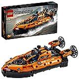 LEGO Technic Hovercraft di Salvataggio e Aereo Bimotore, Giocattolo 2 in 1, Costruzioni per Bambini e Bambine 8+ Anni, 42120