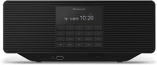 Panasonic RX-D70BTEG-K digitale radio met CD (DAB+, stereo geluid, Bluetooth, FM, net- en batterijvoeding, AUX, wekfuncti...