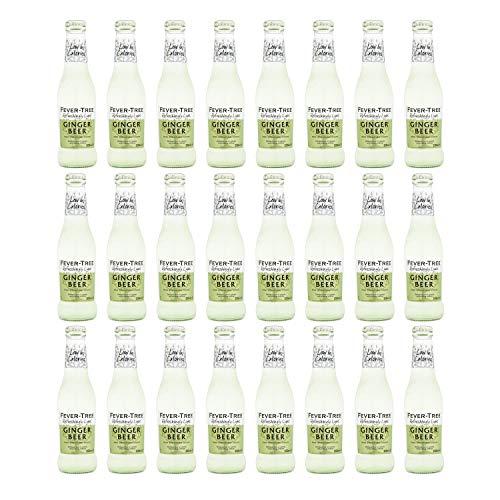 Fever Tree – verfrissend licht gember bier 200ml glazen fles (Pack van 24)