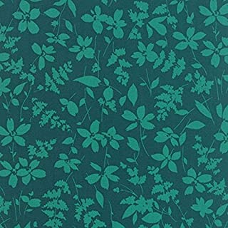 Basic Mixologie Teal - Geometrics Turquoise Leaves Floral - Studio M - Moda - 752106229723-33021 23