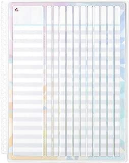 Erin Condren Designer Accessories Snap-in Wet Erase Dashboard for Checklists