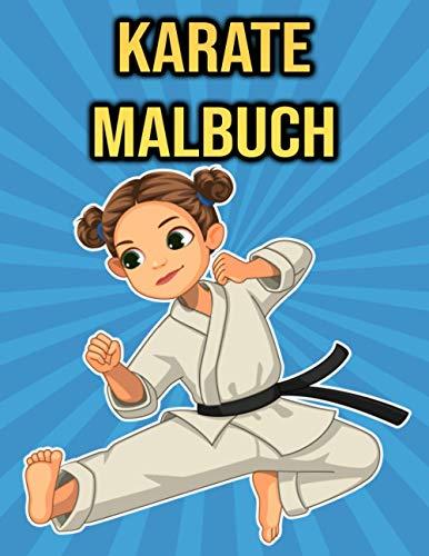 Karate Malbuch: für Kinder, Jungen & Mädchen | Karate Geschenke