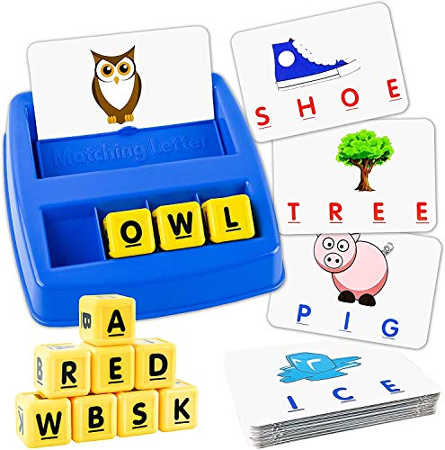 Little Treasures Matching Letter Game Word Board Games