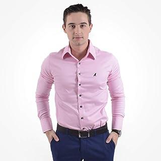 faf1ba7136 Moda - GG - Camisas Sociais   Camisas na Amazon.com.br
