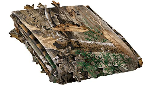 Allen Company 3D Leafy Omnitex Hunting Blind Making Material - (12 feet x 56 inches) - Realtree Edge