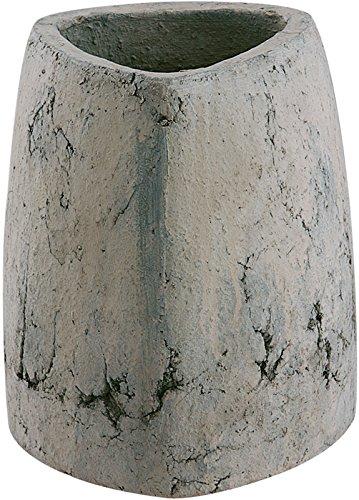 Vase Triangle Haut Pierre 14 Cm X 21 Cm de Haut en Céramique