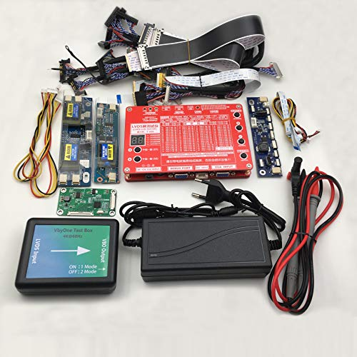 Package Support Highest 38402160 Resolution LCD LED EDP Display Testing Tool 4k/VB1/V-BY-ONE+LVDS Laptop LCD LED Screen Tester
