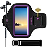 RUNBACH Galaxy Note 10+/9/8 Armband, Sweatproof Running Exercise Gym Cellphone Sportband Bag with Fingerprint...