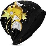 Blanco Magikarp Graphic Kids Knit Hat Cuffed Thin Bonnet Cap Otoño Unisex Casual Gorros